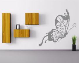 adesivo murale-elegante farfalla