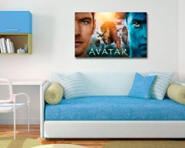 stampa su tela-avatar movie