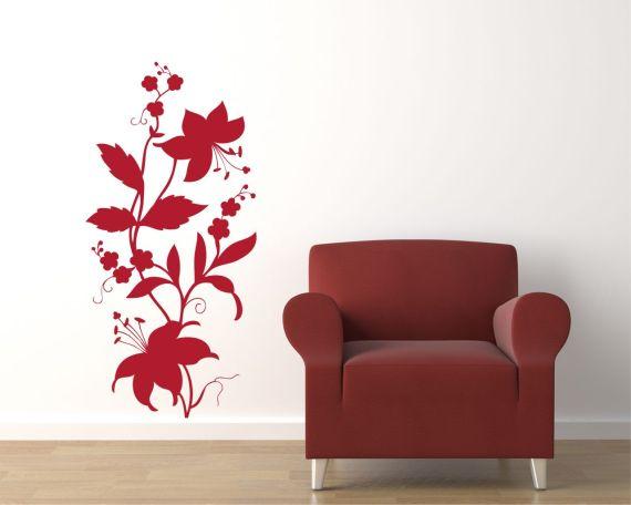 adesivo murale-meravigliosi lilium