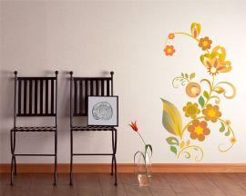 adesivo murale-primi fiori di primavera