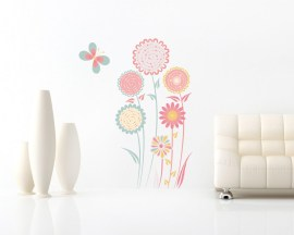 Adesivo murale-sogno di primavera