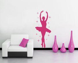Adesivo murale-etoile tra decori
