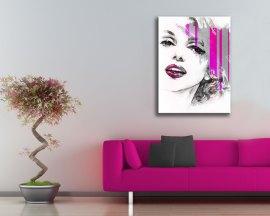 Stampa su tela-ritratto di Marilyn