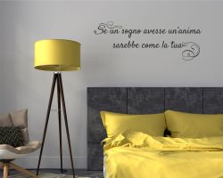 Adesivo murale-sogno e anima