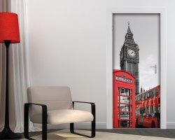 Adesivo per porte-viaggio a Londra