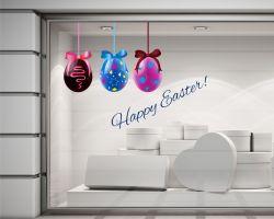 Vetrofania-Happy Easter!