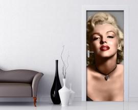 Adesivo per porte-Favolosa Marilyn