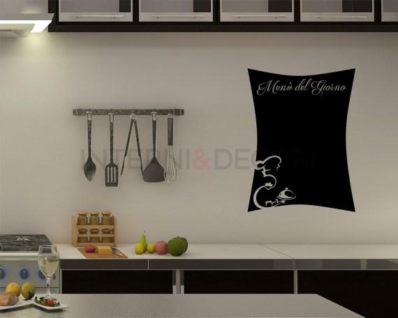 Lavagna adesiva-menù del giorno