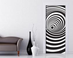 Adesivo per porte-spirale ottica
