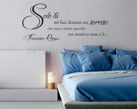 Francesco Renga-Il mio giorno più bello del mondo-Adesivo murale