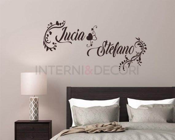 adesivo murale-decori di cuori-adesivo da parete amore
