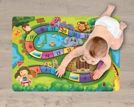 Adesivi per pavimento-percorso numerato-tappeto adesivo bambini