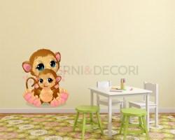 Adesivo murale-amore di mamma orsa-adesivo da parete
