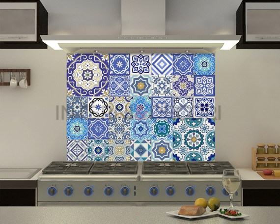 Azulejos malaga-adesivi per piastrelle