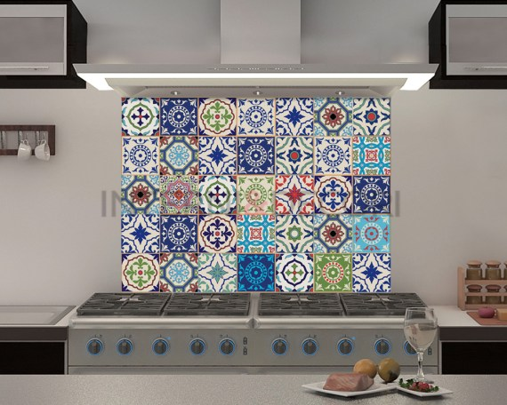 Azulejos Valencia-adesivi per piastrelle