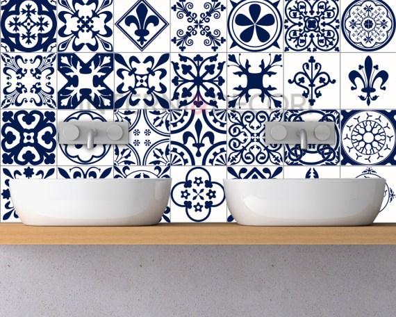 Azulejos cadice-adesivi per piastrelle