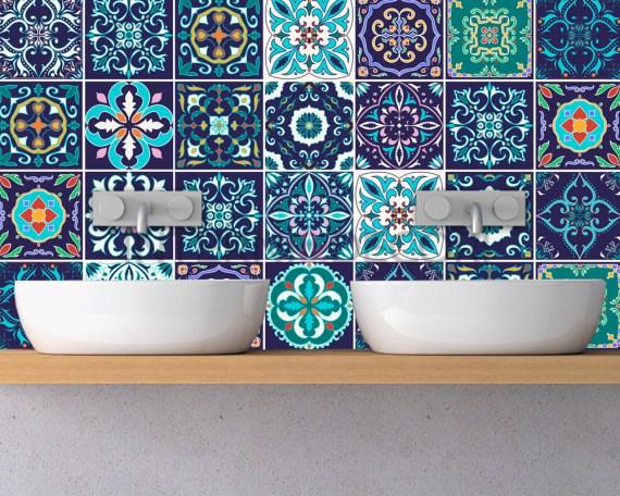 Azulejos casablanca-adesivi per piastrelle