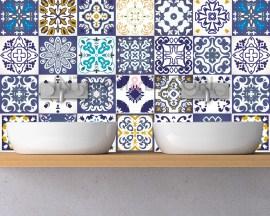 Azulejos oviedo-adesivi per piastrelle