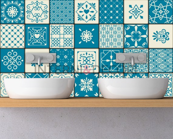 Azulejos agadir-adesivi per piastrelle