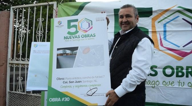 INICIAN TRES OBRAS DE GRAN BENEFICIO PARA LOS VECINOS DE LA COLONIA SAN JUAN