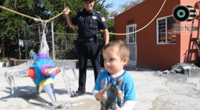 LLEVAN POSADA A CASA HOGAR EN TERREROS.