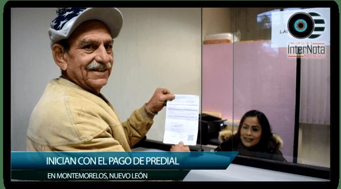 INICIAN CON PAGO DE PREDIAL