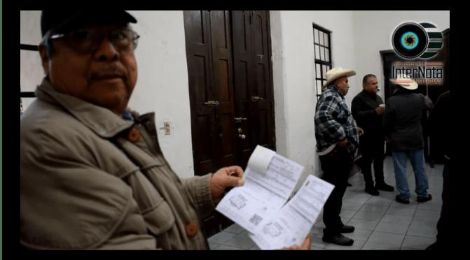 ALCALDE INVITA A LA CIUDADANÍA A REALIZAR SU PAGO DE PREDIAL EN GENERAL TERÁN.