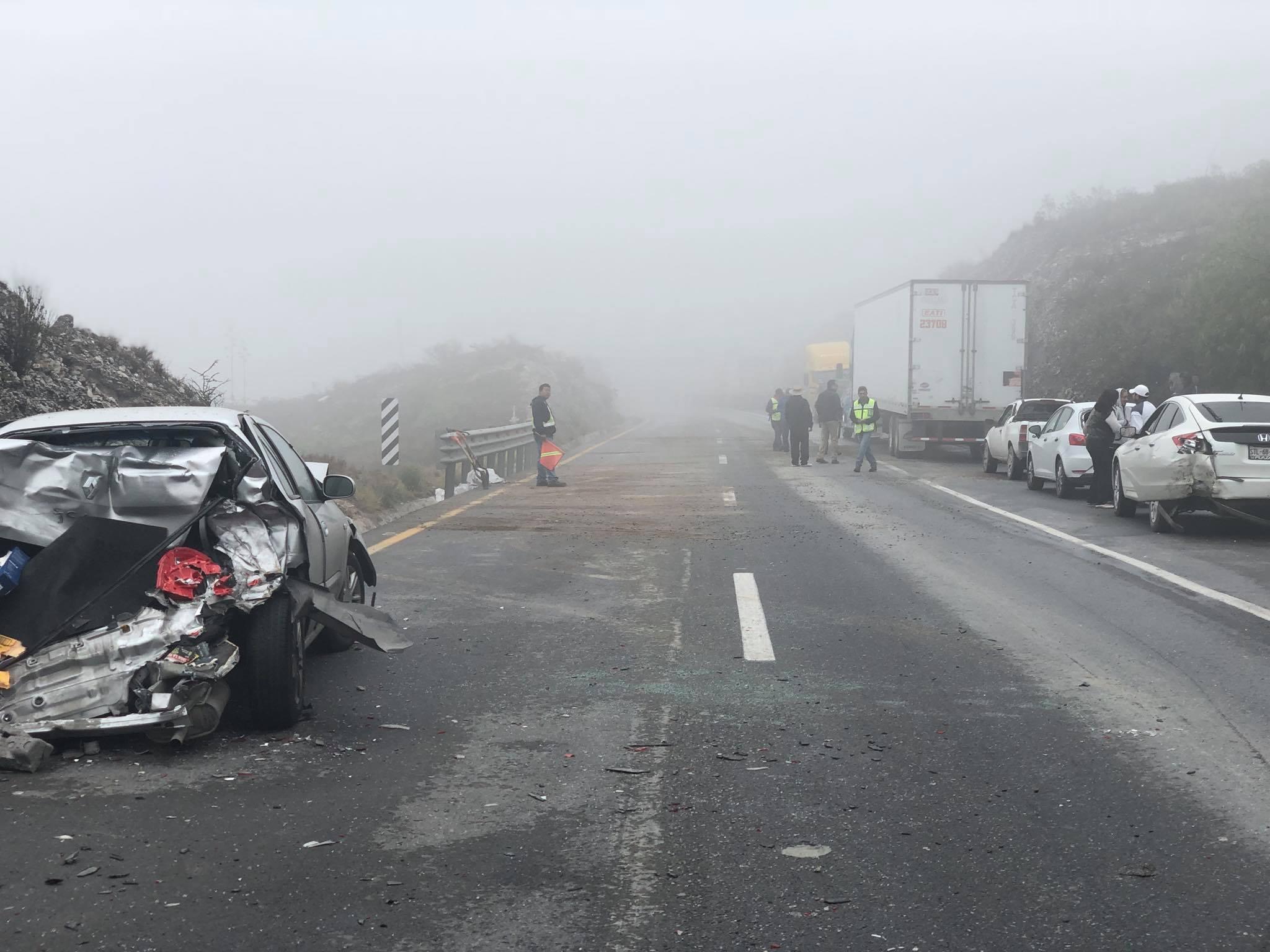 SE REANUDA CIRCULACIÓN EN CARRETERA SALTILLO-MONTERREY POR ACCIDENTE ...