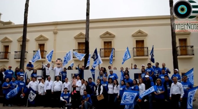 INICIA CAMPAÑA POR ACCIÓN NACIONAL A LA ALCALDÍA DE ALLENDE, SILVERIO FLORES LEAL.