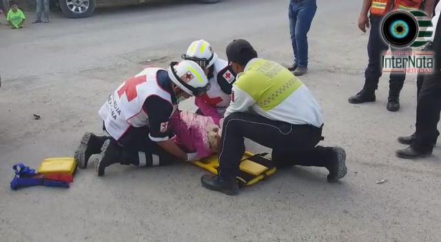 SE REGISTRA ACCIDENTE TIPO CRUCERO, HAY UN LESIONADO