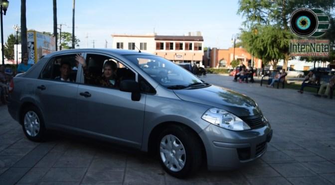REALIZAN ENTREGA DEL AUTOMÓVIL TIDA 2018 A MARÍA TERESA PÉREZ PÉREZ EN ALLENDE N.L.