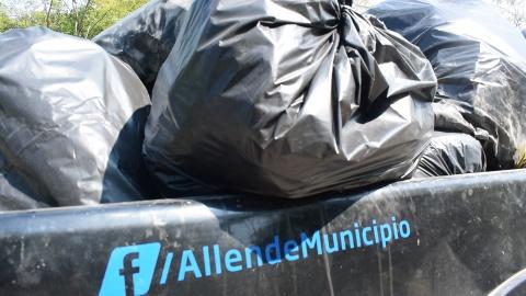 MAS DE 30 TONELADAS DE BASURA RECOLECTAN EN EL RÍO RAMOS.
