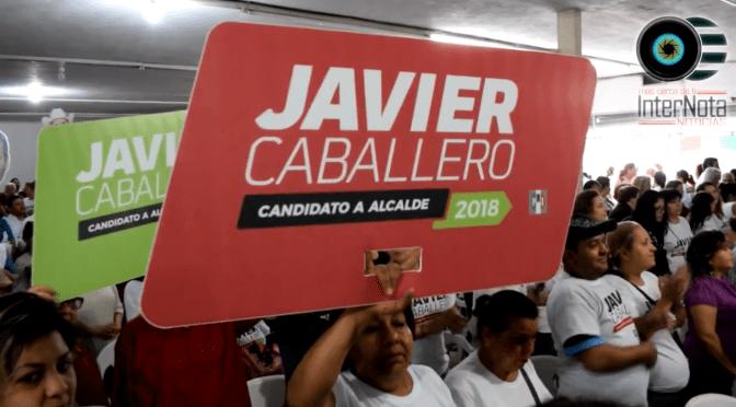 INICIA CAMPAÑA POR EL PRI A LA ALCALDÍA DE SANTIAGO, JAVIER CABALLERO GAONA.