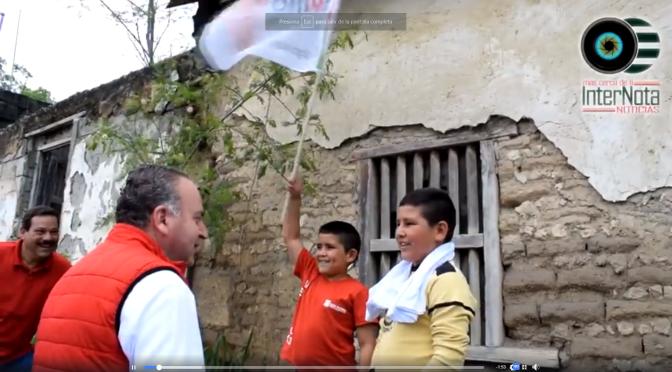 CANDIDATO POR EL PRI JAVIER TREVIÑO RECORRE CALLES POR BARRIO JALISCO.