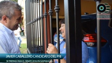JAVIER CABALLERO SE PREPARA PARA DEBATE 2018