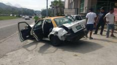 ACCIDENTE VIAL EN SANTIAGO.