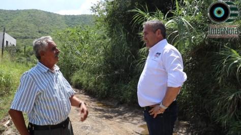 EL CANDIDATO DEL PRI A LA ALCALDIA JAVIER CABALLERO VISITA A LOS VECINOS DE LOS FIERROS Y EL BARRIAL