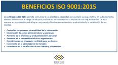 BENEFICIOS ISO