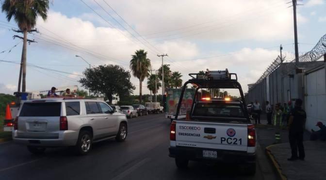 PROTESTAN INTERNOS POR REVISIÓN EN TUTELAR DE MENORES EN ESCOBEDO.