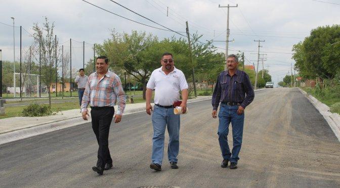 INAUGURAN OBRA DE PAVIMENTACIÓN EN CALLE ADOLFO LOPEZ MATEOS.