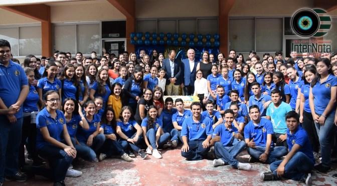 FESTEJAN 45 ANIVERSARIO DE PREPARATORIA #14 EN GENERAL TERÁN