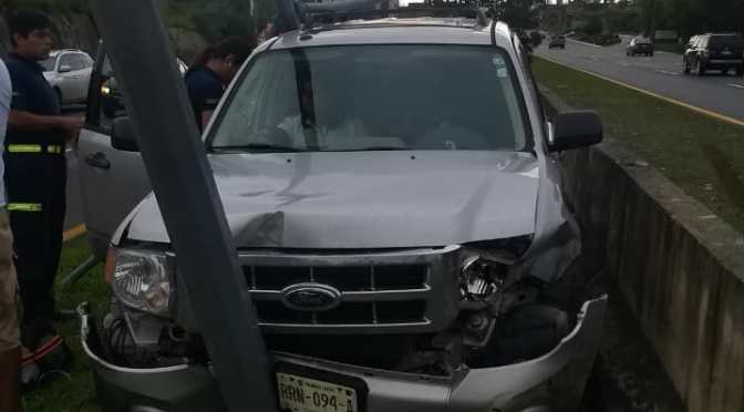 SE REGISTRÓ ACCIDENTE VIAL