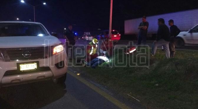 FUERTE ACCIDENTE DEJA SIN VIDA A UN MOTOCICLISTA #ENVIVO#SANTAGO