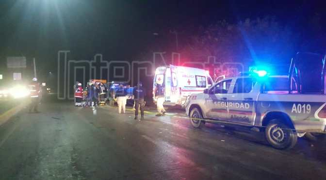 #ENVIVO #ACCIDENTE FALLECE PERSONA EN ACCIDENTE VIAL EN CARRETERA NACIONAL