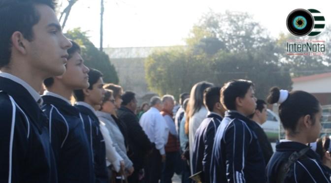 REALIZAN ACTO CÍVICO EN CONMEMORACIÓN AL 102 ANIVERSARIO DE LA CONSTITUCIÓN POLÍTICA MEXICANA, SANTIAGO, N.L.