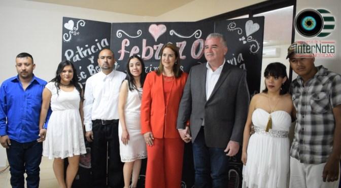 LLEVAN A CABO MATRIMONIOS COLECTIVOS EN GENERAL TERÁN N.L.