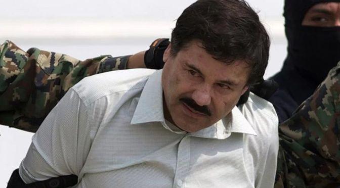 "DECLARAN CULPABLE A JOAQUÍN GUZMÁN ""EL CHAPO""."