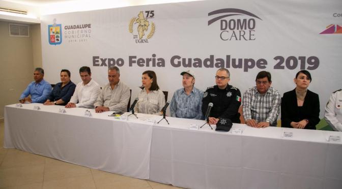 PRÓXIMA EXPO FERIA GUADALUPE 2019