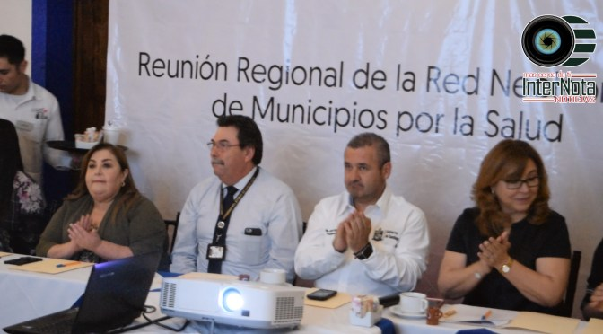 SANTIAGO, N.L. ES SEDE DE LA REUNIÓN REGIONAL CON ALCALDES DE LA RED DE MUNICIPIOS POR LA SALUD DE LA REGION CITRÍCOLA