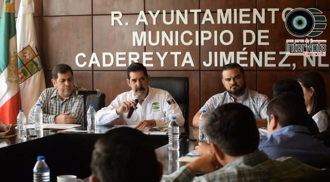 APRUEBAN EN SESIÓN DE CABILDO LA PAVIMENTACIÓN DE DISTINTAS CALLES DEL MUNICIPIO DE CADEREYTA JIMÉNEZ NUEVO LEÓN.
